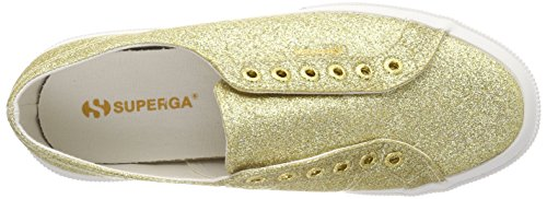 Superga 2750 Microglitterw, Baskets Femme Gold (Orange Gold)