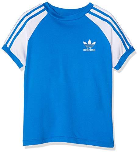 T-shirt e maglie Adidas Maglia Maglietta T-Shirt CALIFORNIA Bambini Ragazzi Bianco CE1064-WHITE