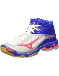 Mizuno W.Lightning Z2 Mid Wos, Chaussures de Volleyball Femme