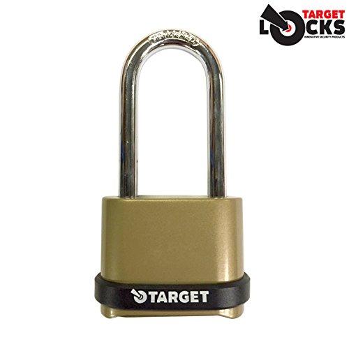 Target langer Bügel, 4-stellige Zahlenschloss, 57 mm 1 Lock