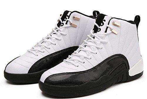 Männer Art und Weise beiläufige Basketball-Schuhe beiläufige klassische im Freiensport-laufende Schuhe white black
