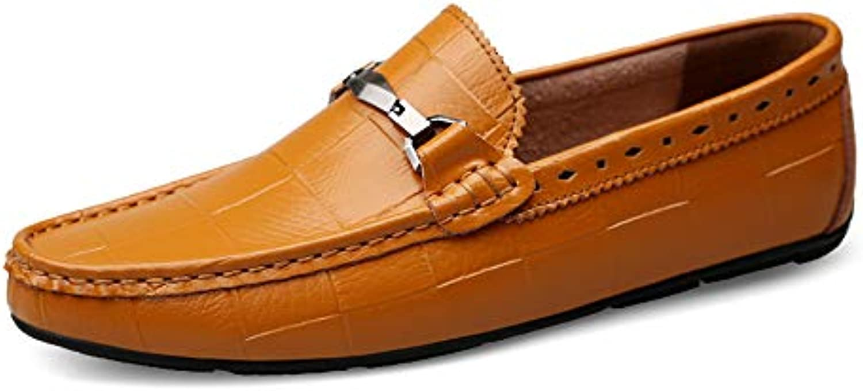 Shoe house Hommes Occasionnels Oxford Chaussures de Conduite Occasionnels Hommes Chaussures de Bateau antidérapant 37-45 Verges 9d8920