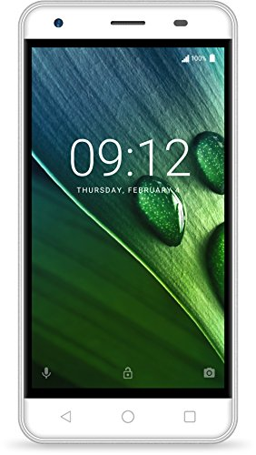 Acer Liquid Z6 E Dual Micro-SIM Smartphone (12,7 cm (5 Zoll) HD Display, 8GB Speicher, 2.000mAh Akku, Android 6.0) weiß