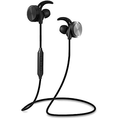 RIVERSONG®Cuffie senza fili, RIVER C01 Magnetiche Auricolari Wireless Bluetooth 4.1