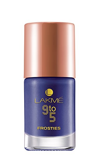 Lakme 9 TO 5 Nail Frosties Purple Frost