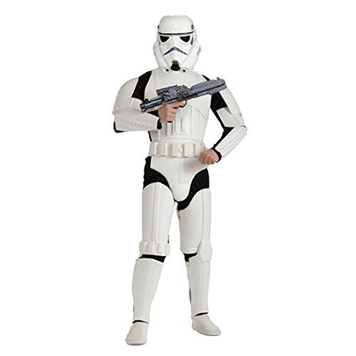 Star Wars Kostüm Stormtrooper M/L 48/52 Starwars Storm Trooper Sturmtruppler Outfit Verkleidung Herren Männer - Kostüme Wars Star Stormtrooper
