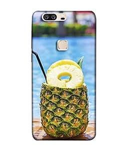 PrintVisa Designer Back Case Cover for Huawei Honor V8 (Fruits Straw Juice Cool Health)