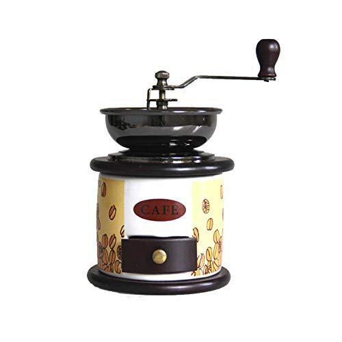 Tiners Manuelle Kaffeemühle Mini Coffee Appliance Home Grinder Gusseisenkern