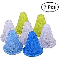 VORCOOL Conos Deportivos LED Lightup Fútbol Soccer Rugby Conos de Entrenamiento Agility Marker Cone Pack de 7 (Color Mixto)