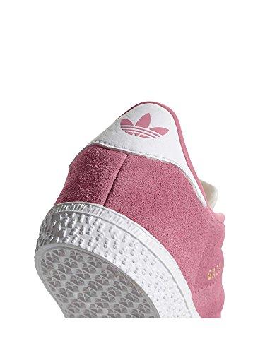 adidas Gazelle, Sneakers Basses Mixte Bébé, Rot Rose (Chalk Pink/chalk Pink/footwear White)