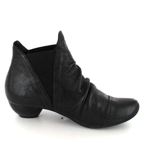 Pensare! Damen Aida Chelsea Boots Schwarz