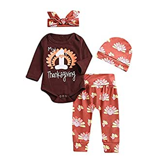 new product d8706 88b3a Togelei Baby Kleidung Set,Thanksgiving Baby Langarm Brief ...