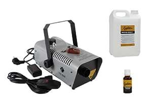 Machines et liquides EAGLETONE PACK FOG 800W + LIQUIDE MEDIUM DENSITY + FRAGRANCE PASSION Machines à fumée