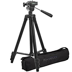 Ravelli APLT2 50 Light Weight Aluminum Tripod with Bag