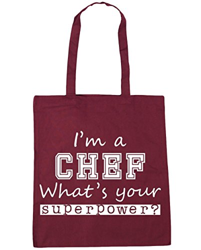 hippowarehouse-im-a-chef-whats-your-superpower-tote-shopping-gym-beach-bag-42cm-x38cm-10-litres