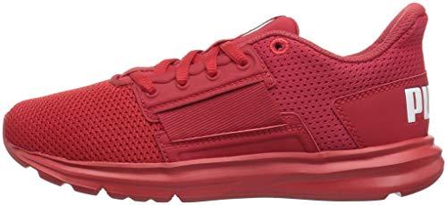 PUMA Unisex-Kids Enzo Street Sneaker  Ribbon Red-High Risk Red  10 5 M US Little Kid