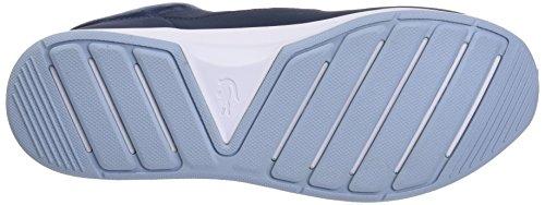 Lacoste Ladies Chaumont Lace 317 1 Trainer Low Blue (nvy)