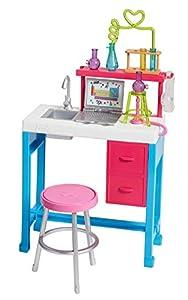 Barbie laboratorio de ciencia, accesorios muñeca científica (Mattel FJB28)