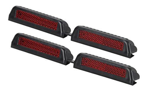 Preisvergleich Produktbild hr-imotion Türkanten - Reflektoren Set - 2 Stk je 185 mm lang [Selbstklebend | Made in Germany | Fahrzeuge & Heim] - 12110201
