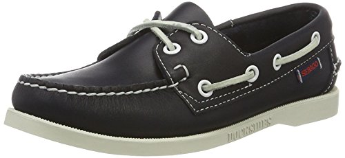 Sebago DOCKSIDES Damen Bootsschuhe Blau (Blue Nite Leather)