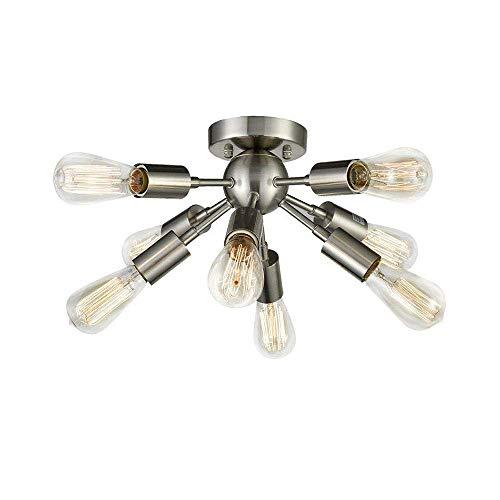 Lámpara de techo, lámpara de techo Nordic, lámpara serge mouille, dientes de danza, lámpara de diseño moderno