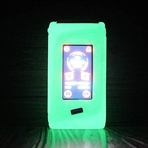 RUIYITECH Textur Schutzhülle für Smok Morph 219W Box Mod, für Smok Morph Case Protective Silikon Rubber Sleeve Cover Shield Wrap Glow in The Dark