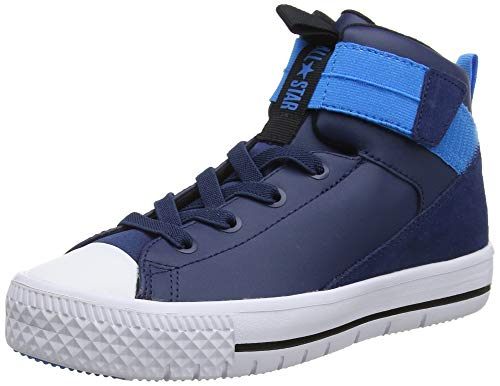 Converse Unisex-Kinder Chuck Taylor All Star HIGH Street LITE Hohe Sneaker, Blau (Navy/White/Blue Hero 426), 37.5 EU