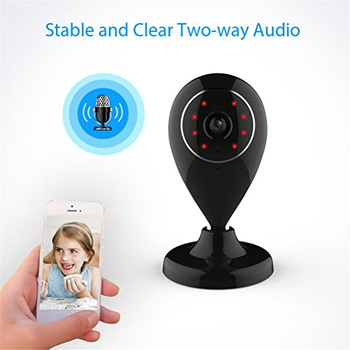 GMM Mini WiFi WLAN IP-Kamera 720P Wireless P2P CCTV Sicherheit Netzwerk-Kamera Unterstützung SD Card Baby Monitor