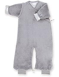Bemini by Baby Boum Softy Jersey Sleeping Bag (3-9 Months, Milky 92 Grizou)