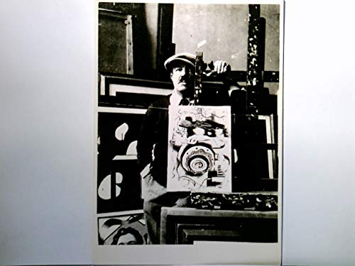 Fernand Léger. AK s/w. Franz. Maler. Fotographie des Künstlers wohl in seinem Atelier. Kubismus, Malerei, Kunst