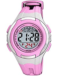 Vizion Digital LCD Multicolor Dial Watch for Kids-V-1705458-4