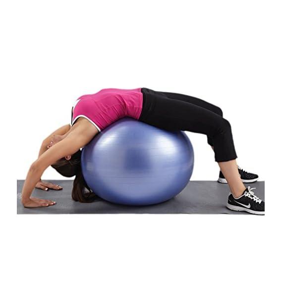 Kretix 75cm Yoga Ball Anti-Explosion Pregnant Slimming Balance Gym Palla Fitness Ballon fitball Exercise bosu Swiss Pilates Sports Ball