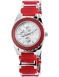 timento Analog Mujer reloj, metal, diámetro 39mm, Plata–510022500014