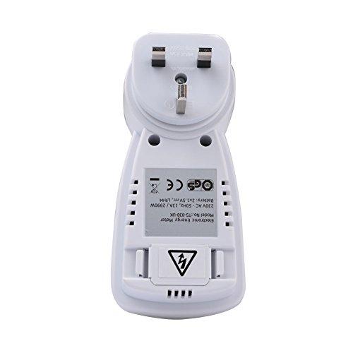 Prettygood7 - Misuratore di energia 230 V, voltmetro Hertz