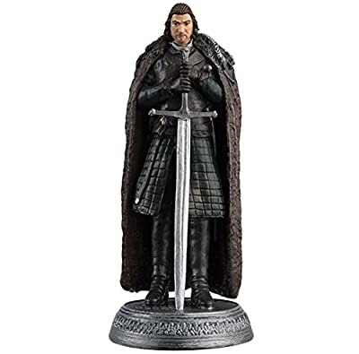 Eaglemoss 1:21 Game of Thrones Eddard Stark Lord of Winterfell Figure