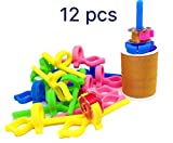 PeavyTailor #11 Bobbins Buddies 12pcs Bobbin Holder Clamp Thread Organizer Matching Thread Spools Together
