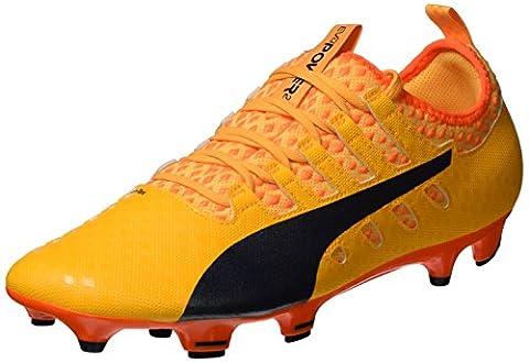 Puma Men's Evopower Vigor 2 Fg Footbal Shoes, Orange (Ultra Yellow-Peacoat-Orange Clown Fish 04), 8