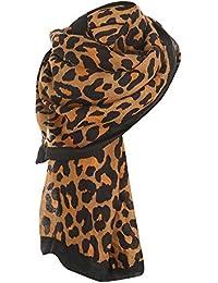 Yvelands Solde Femme L Hiver Imprimé LéOpard Camouflage Garder Au Chaud  Fluff éCharpe Foulard 8a447fbf8d7