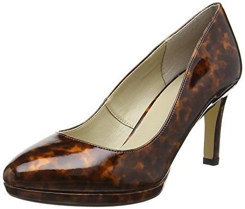 Lotus Women's Calla Platform Heels, Brown (Brown), 5 UK 38 EU