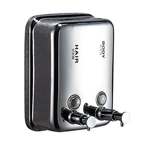uschgelspender Für Gewerbliche Zwecke Modern Square Metal Hand Sanitizer Dispenser Desinfektionsmittelspender Manual 1500ml ()