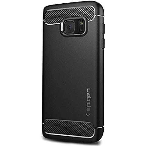 Funda Galaxy S7 Case, Spigen [La ultima protección] Carcasa para Samsung Galaxy S7 Cover Rugged Armor - Black