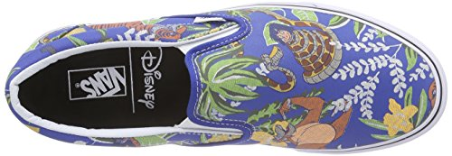 Vans Classic Slip-On, Unisex-Erwachsene Sneakers Blau (disney/the Jungle Book/classic Blue)