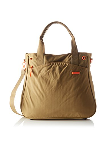 Chiemsee Borsa a mano/tracolla Donna Urban Solid, Beige (135 Dull Gold), 42 x 37 x 11 cm