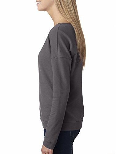 Next Level Damen T-Shirt grau - dunkelgrau