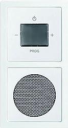 Busch-Jaeger 8240-84 WLAN Radio Komplettset, 2 W, Weiß