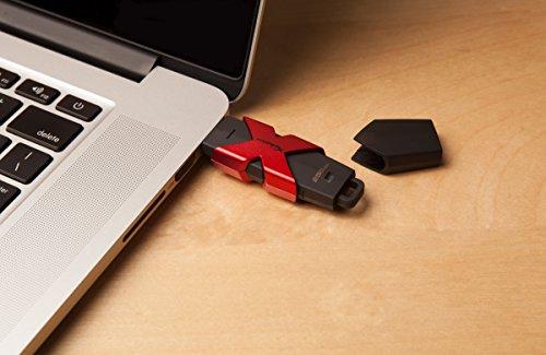 Kingston HyperX Savage USB 3.1 256GB Pen Drive (Red & Black)