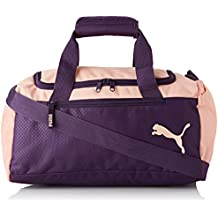Puma Fundamentals Sports Bag XS Bolsa Deporte, Unisex Adulto, Indigo/Peach Bud,
