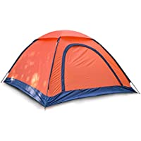 ZHANGP Outdoor tent camping camping beach travel roof climbing single-layer tent 2-3 people tent camping equipment