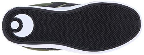 Osiris Lumin Synthétique Chaussure de Basket vert/noir
