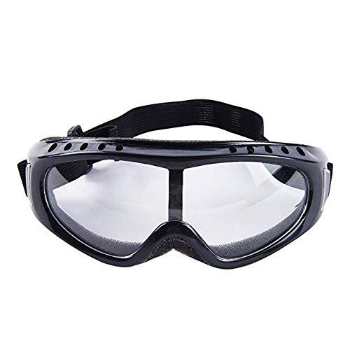 Schutzbrille, kristallklar, Anti-Beschlag-Design, hohe Stoßfestigkeit, Perfekter Augenschutz für Labor, Chemikalien und Arbeitsplatzsicherheit